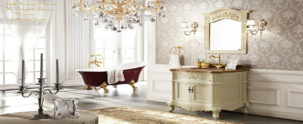 Victorian Style in Bathroom Design  Archilivingcom