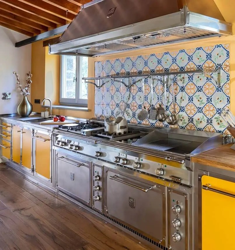 Tuscan Kitchen Project Sunflowers Dream Archi Living Com