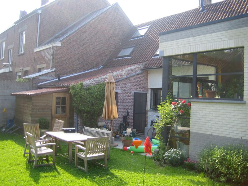 Extension d une maison 3 fa ades itterbeek dilbeek for Extension maison 01