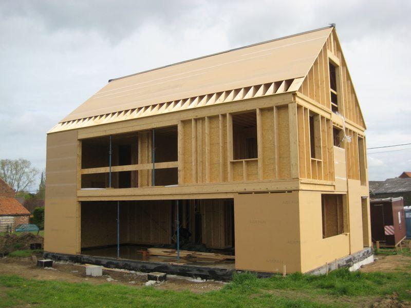 Maison Tr S Basse Nergie Structure Bois Jodoigne