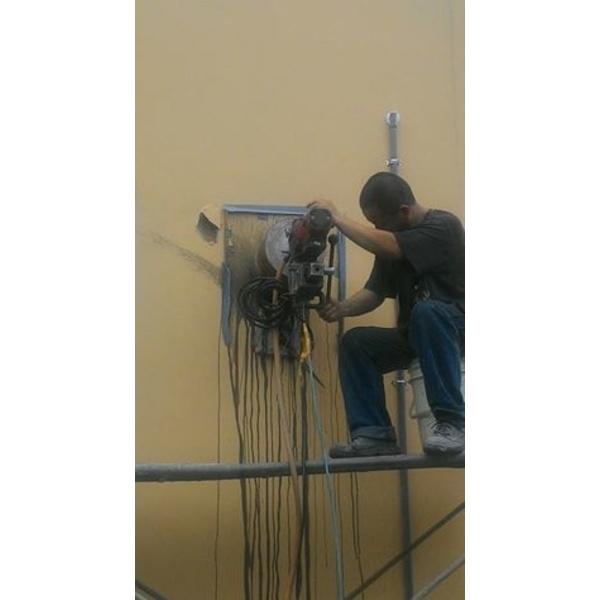 牆壁鑽孔工程介紹 編號:79024-安利工程行