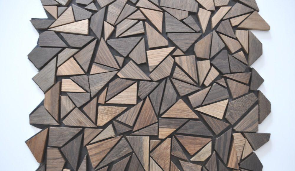 Carreaux Muraux En Mosaique De Bois Archidemat
