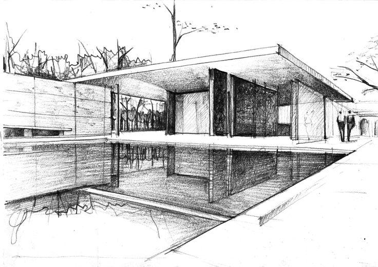 ArchiDiAP  Padiglione Tedesco per lEsposizione Internazionale di Barcellona