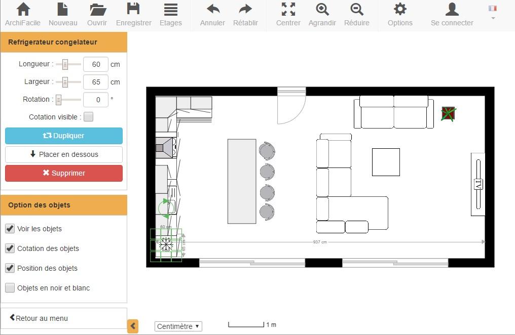 plan de cuisine gratuit logiciel