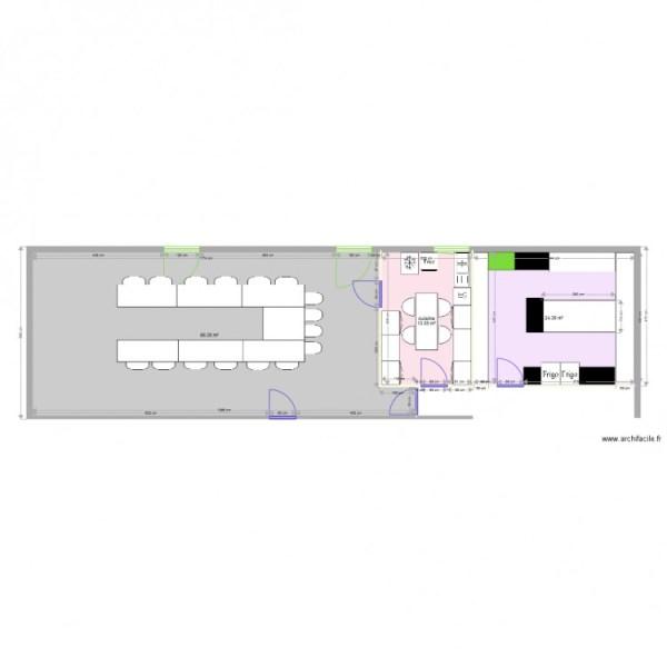 Avant Plan 3 pièces 104 m2 dessiné par apalalex