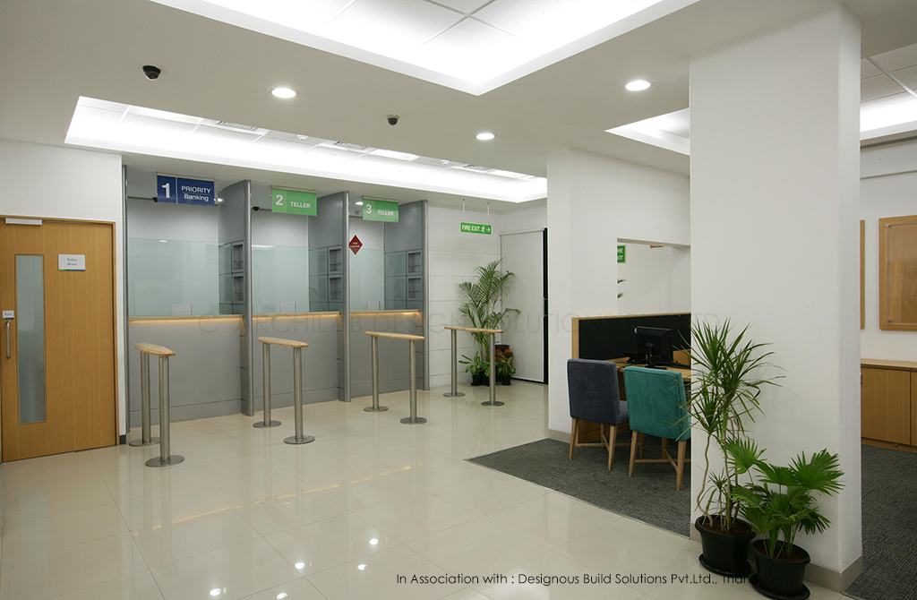 Interiors for Standard Chartered Bank