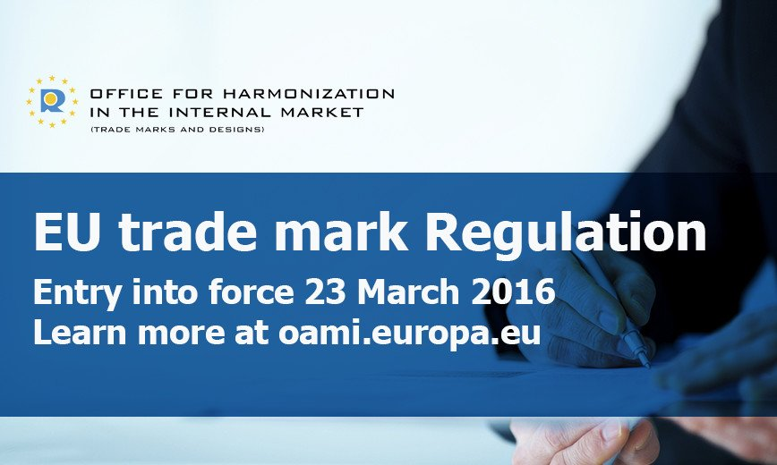 EU trademark Regulation No 2015/2424