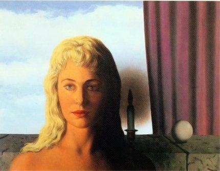 candela retroversa (Magritte, La fata ignorante)