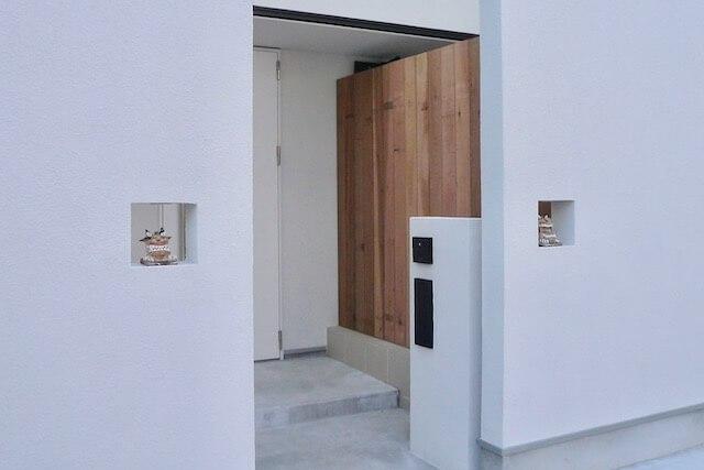 No.006 練馬区注文住宅 I邸事例 アプローチの画像