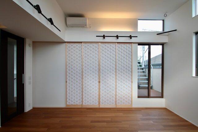 No.110 練馬区注文住宅:M邸事例 リビング2の画像