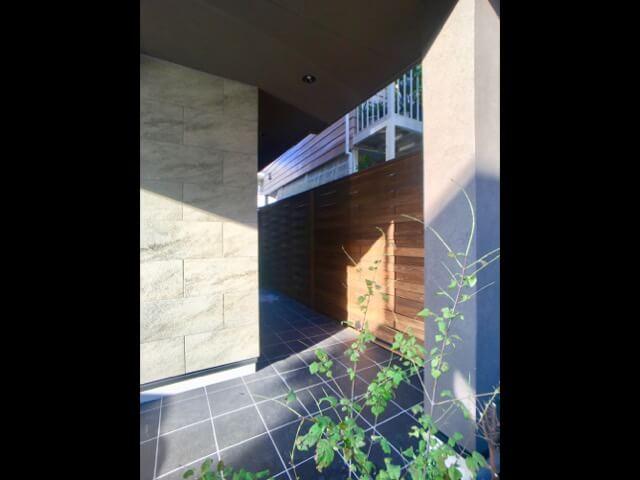 No.110 練馬区注文住宅:M邸事例 アプローチの画像