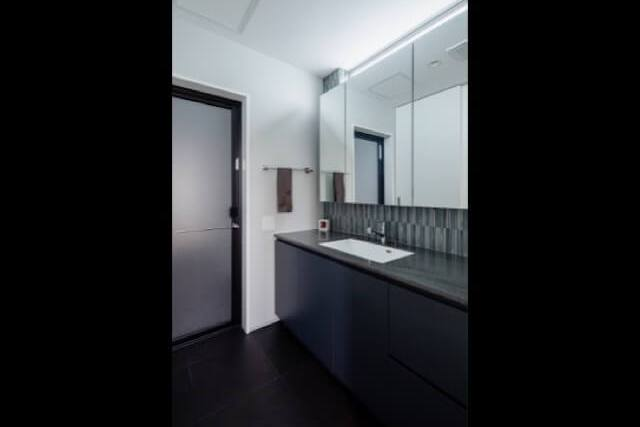 No.114 練馬区注文住宅|SE構法 【東大泉の家】洗面所の画像