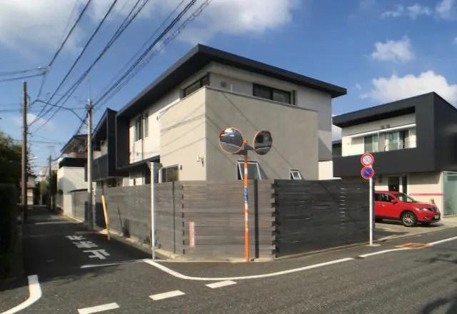 7.武蔵野市注文住宅の外観
