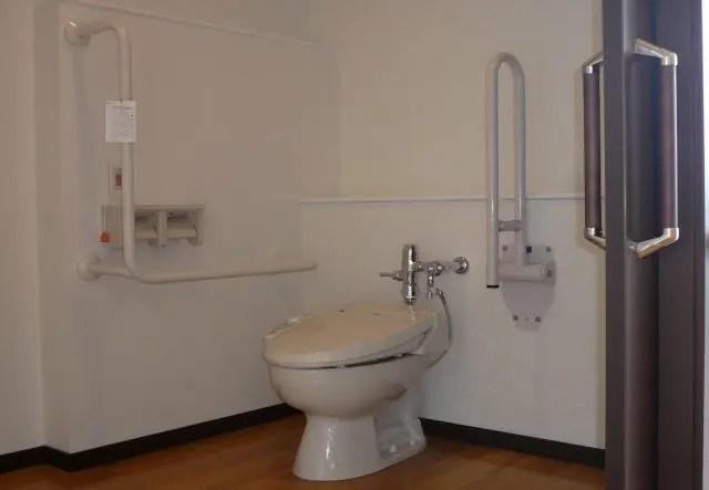 越谷市医療介護施設リフォームのトイレ