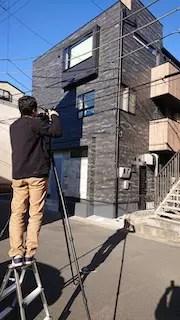 朝霞市注文住宅の竣工撮影1