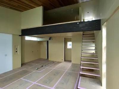 新座市注文住宅の現場写真
