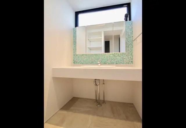 No.119 練馬区注文住宅 I邸事例 洗面所の画像