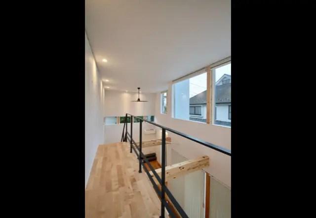 武蔵野市に注文住宅を建てる工務店|2階ホール画像