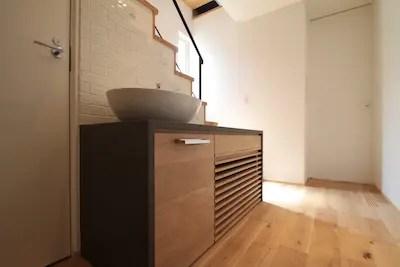床下エアコンの設置事例1