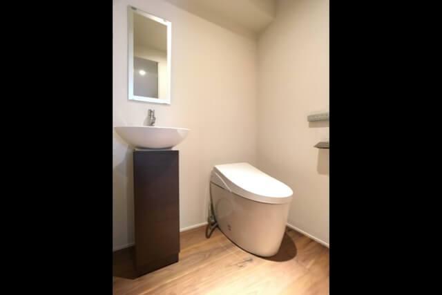 No.127 港区マンションリフォーム トイレの画像