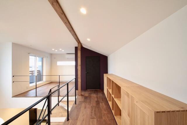 No.118 所沢市注文住宅|SE構法 M邸事例 2Fホールの画像