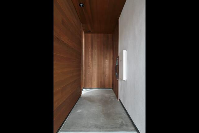 No.126 練馬区注文住宅 DY邸事例 玄関アプローチの画像
