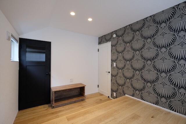 練馬区注文住宅|SE構法 S邸事例 寝室1の画像