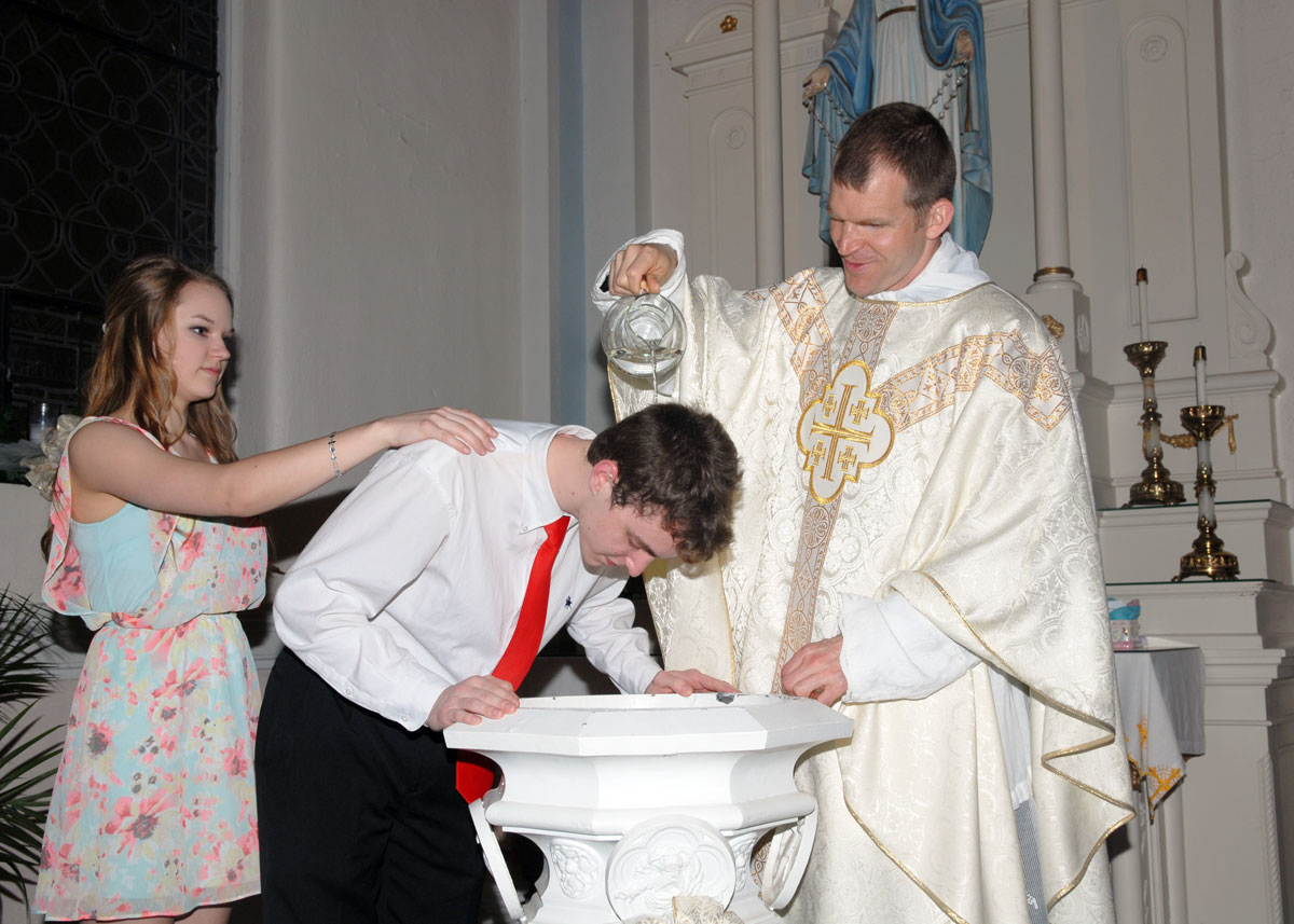 Newly Baptized Adults Share Stories Of Their Journey To