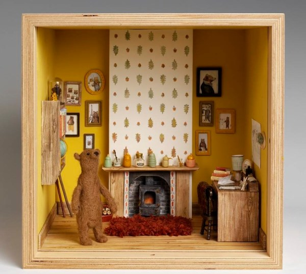 Museum Of Childhood Home In Doll House