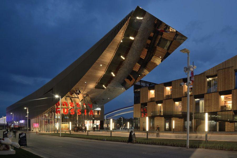 Sergei Tchoban designs Russia Pavilion at Milan Expo 2015