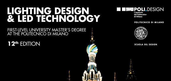 Spd scuola politecnica di design, fondata nel 1954, è la prima scuola di formazione postlaurea per le discipline del progetto in italia. Master In Lighting Design Led Technology At The Politecnico Di Milano