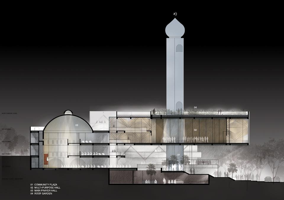 AlAnsar Mosque by FARM Architect
