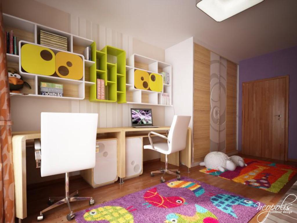 Childrens Bedroom by Neopolis