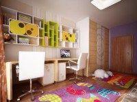 Childrens Bedroom by Neopolis