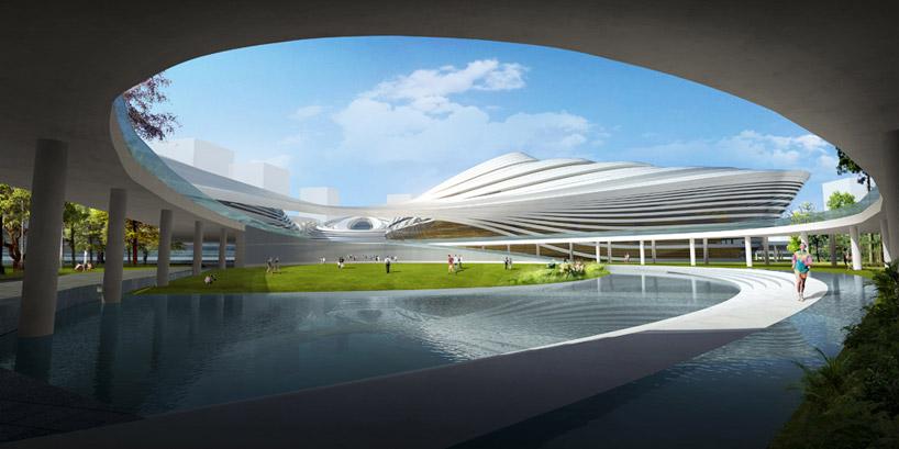 Jingzhou Sports Center by DUO  China National Sports Group