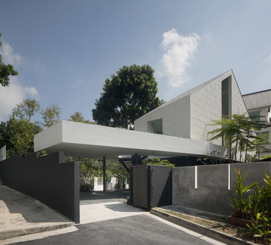 Park House by Formwerkz Architects