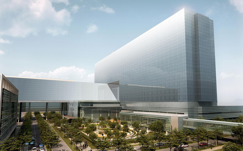 sofa dallas texas kennedy fabric bed parkland hospital by hdr architects