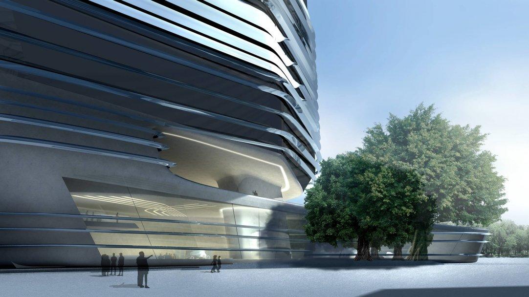 Innovation Tower at Hong Kong Polytechnic University by