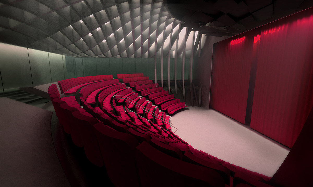 movie theatre chairs for home affordable rocking chair mashouf performing arts center by michael maltzan architecture