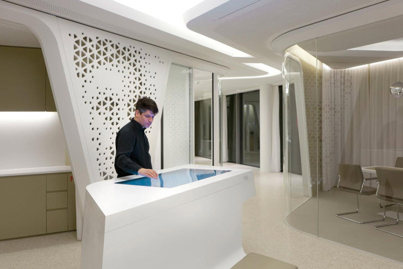 Nau Interior Design A Visit To Nau Design Milk Raiffeisen Bank