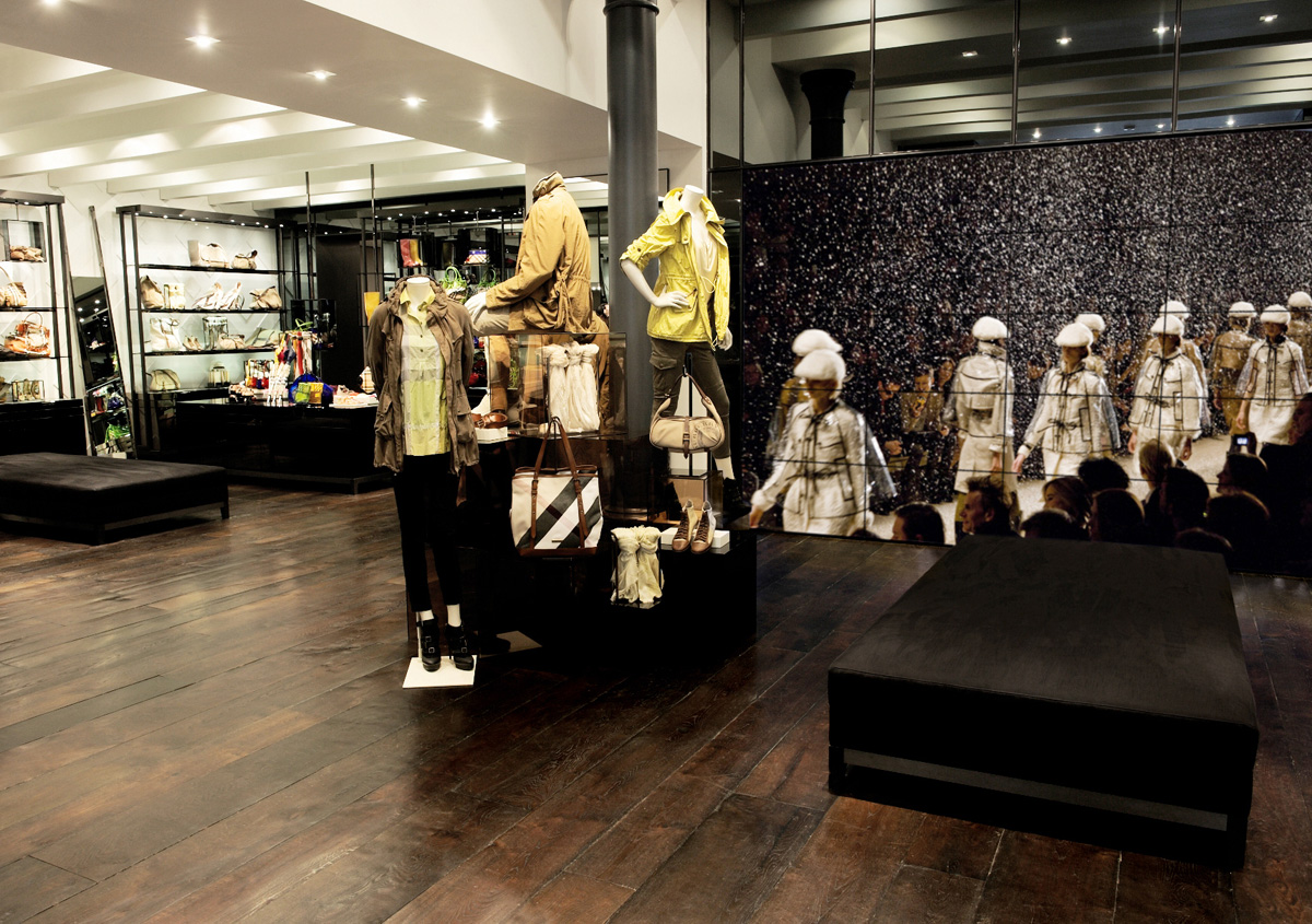 Burberry Brit Store Covent Garden