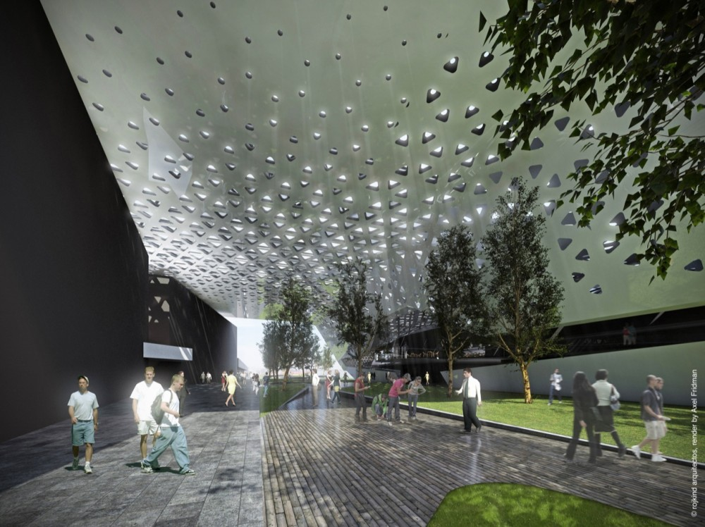 XXI Century National Film Archive by Rojkind Arquitectos