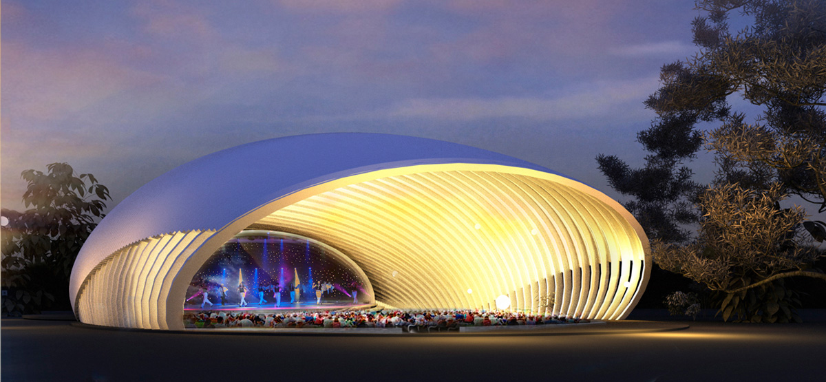 Put Vejini Concert Stage by Jevgenijs Busins Anton Gonda