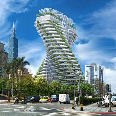 Agora Tower by Vincent Callebaut Architectures