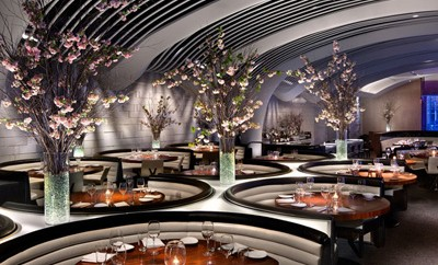 white table chairs ergonomic visitor chair stk midtown restaurant by icrave
