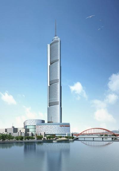 Busan Lotte Town Tower by Skidmore Owings  Merrill