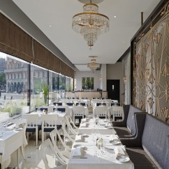 Table And Chairs Set Office Conference Room Richmond International Completes Veranda Restaurant At Grand Hôtel, Stockholm