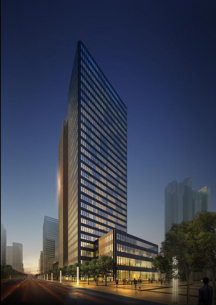 The Financial Street Project in Kunshan by FTA German Design