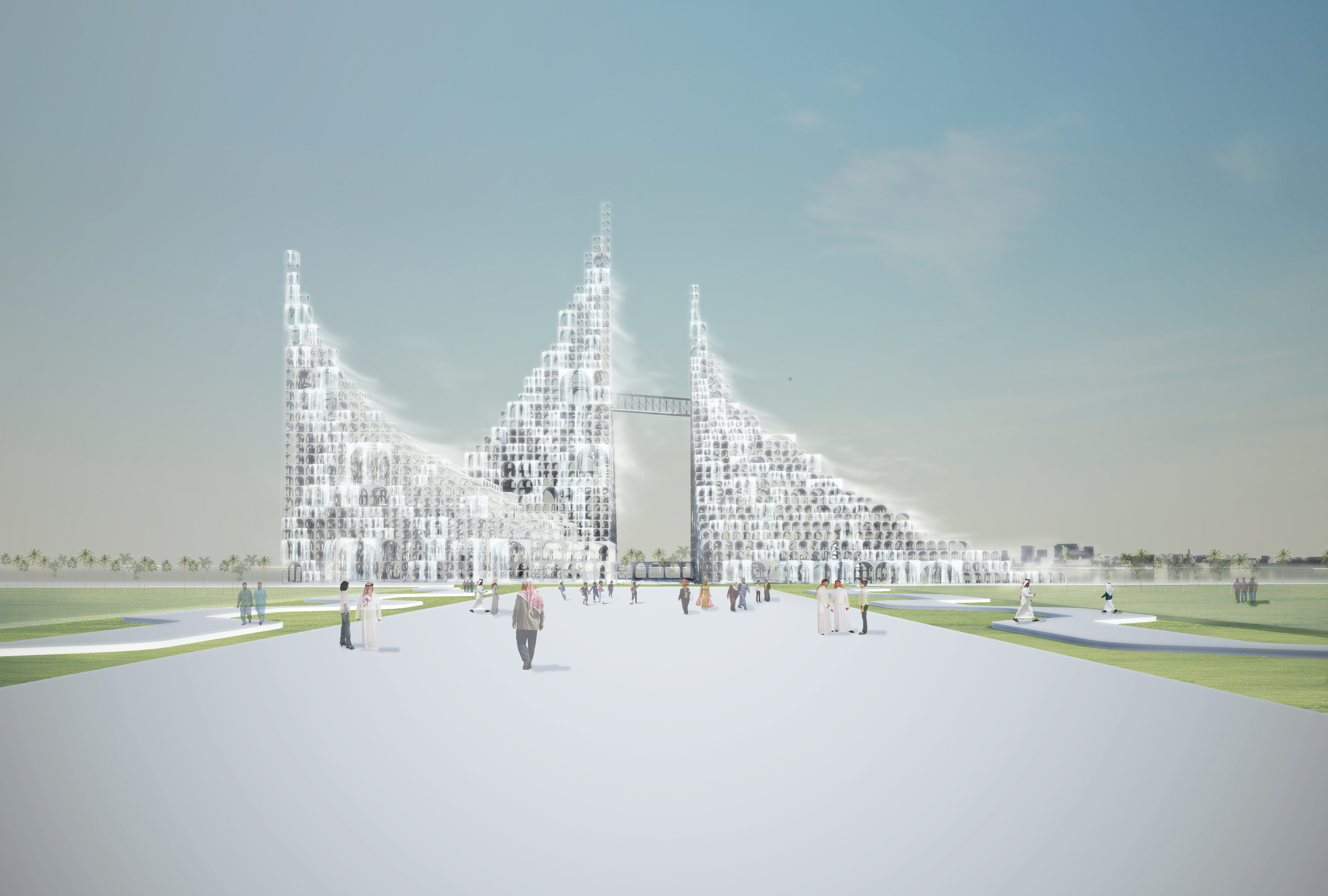 Master Plan Particles Of Light By Sou Fujimoto Architects
