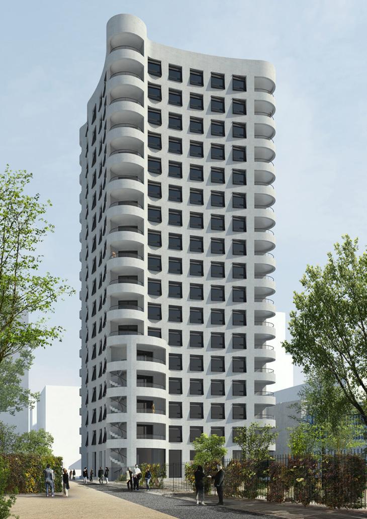 Herzog Amp De Meuron Unveils Lyon Confluence Ilot A3